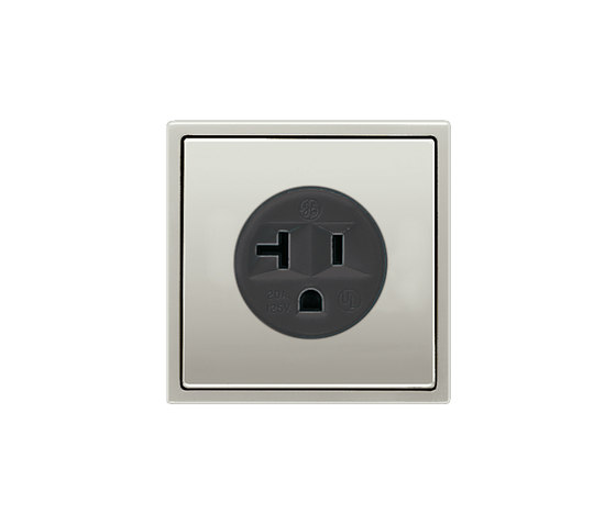 LS 990NEMA Standard socket stainless steel by JUNG | American sockets