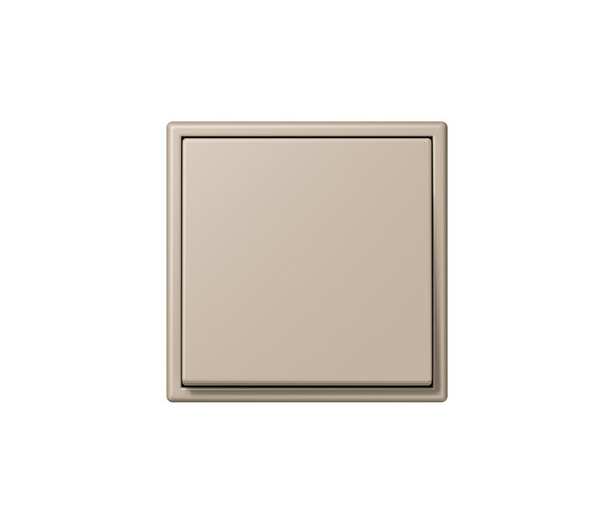 LS 990 in Les Couleurs® Le Corbusier | Schalter 32142 ombre naturelle claire by JUNG | Two-way switches