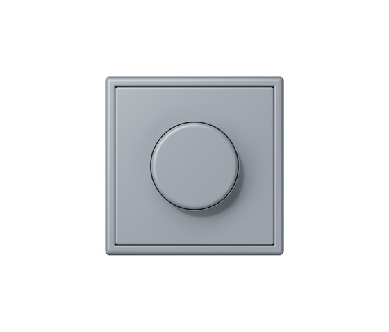 LS 990 in Les Couleurs® Le Corbusier | rotary dimmer 4320O gris clair 59 by JUNG | Rotary switches