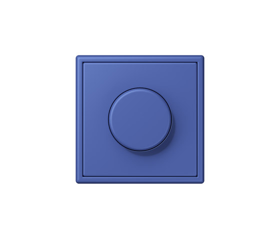LS 990 in Les Couleurs® Le Corbusier | rotary dimmer 32020 by JUNG | Rotary switches