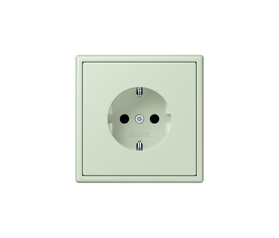 LS 990 in Les Couleurs® Le Corbusier | socket 32042 by JUNG | Schuko sockets