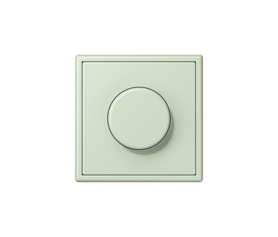 LS 990 in Les Couleurs® Le Corbusier | rotary dimmer 32042 by JUNG | Rotary switches