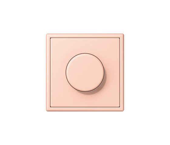 LS 990 in Les Couleurs® Le Corbusier | rotary dimmer 32112 l'ocre rouge clair by JUNG | Rotary switches