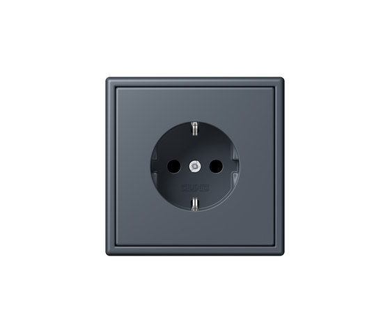 LS 990 in Les Couleurs® Le Corbusier socket 4320U by JUNG | Schuko sockets