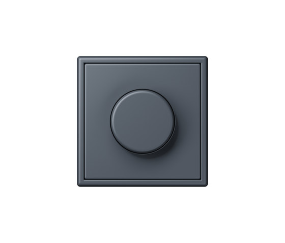 LS 990 in Les Couleurs® Le Corbusier rotary dimmer 4320U by JUNG | Rotary switches