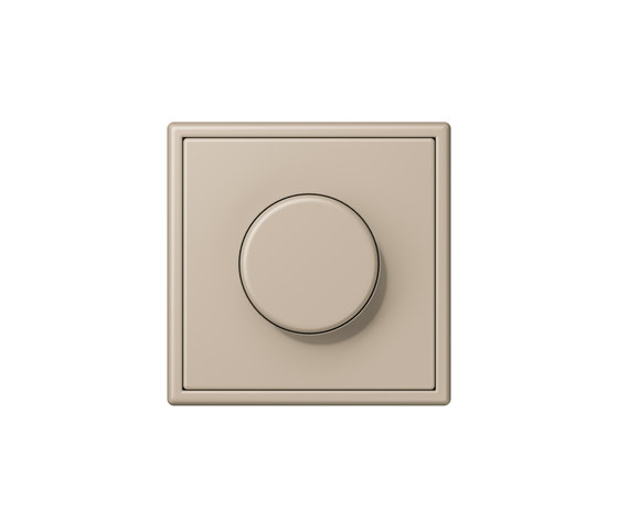 LS 990 in Les Couleurs® Le Corbusier | rotary dimmer 32142 ombre naturelle claire by JUNG | Rotary switches
