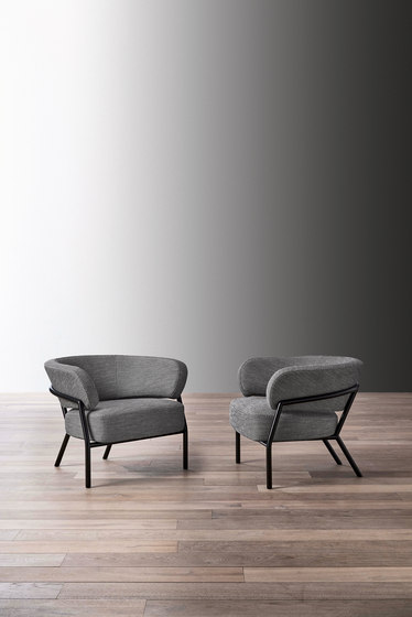 Nanì Small Armchair by Meridiani | Armchairs