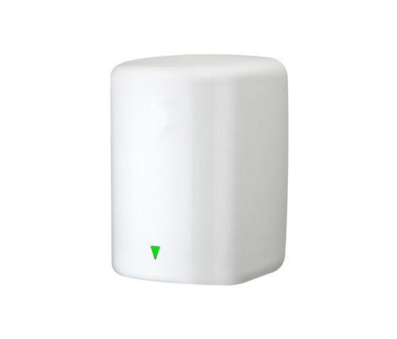 SteelTec Hand dryer, with IR sensor, white, TURBO de CONTI+ | Secadores de manos