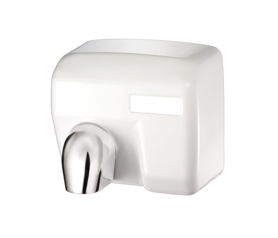 SteelTec Hand dryer, with IR sensor, white, MAXI by CONTI+ | Hand dryers