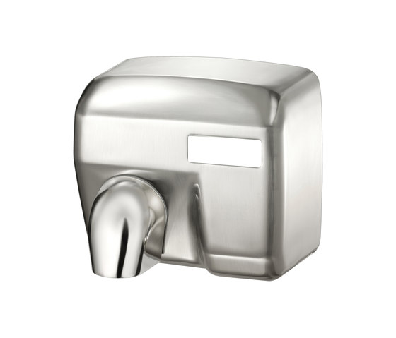SteelTec Hand dryer, with IR sensor, chrome, MAXI by CONTI+ | Hand dryers