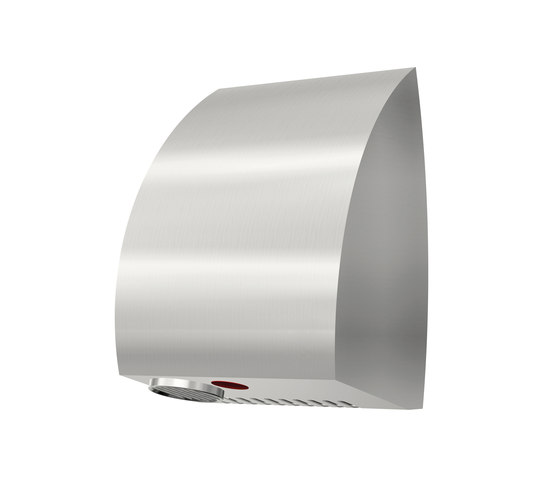 SteelTec Hand dryer, with IR sensor, stainless steel, AE DESIGN by CONTI+ | Hand dryers