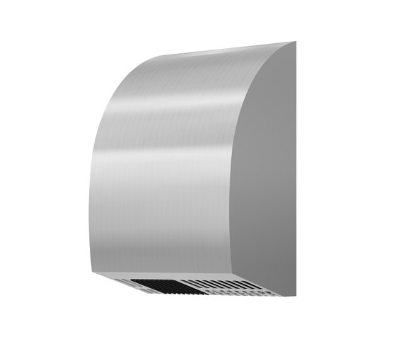 SteelTec hand dryer, with IR sensor, stainless steel, MINI DESIGN by CONTI+ | Hand dryers