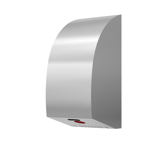 SteelTec hand dryer, with IR sensor, stainless steel, TURBO DESIGN by CONTI+ | Hand dryers