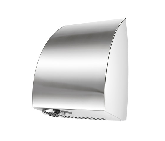 SteelTec hand dryer, with IR sensor, stainless steel matt, TURBO DESIGN by CONTI+ | Hand dryers