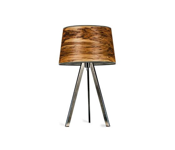 Attica | Oliveash burl by LeuchtNatur | Table lights