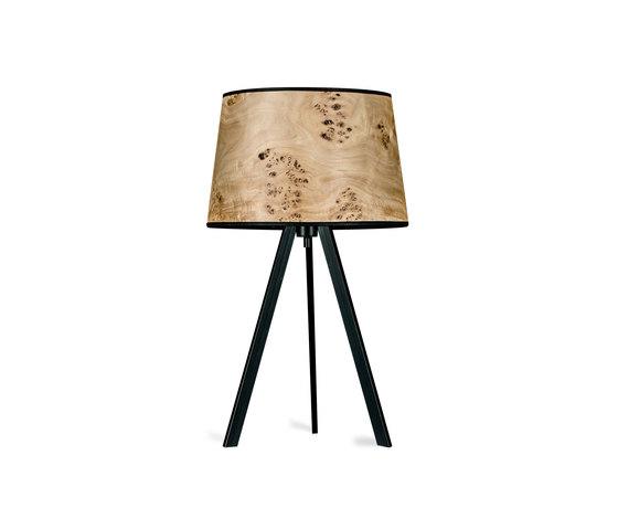 Attica | Poplar burl di LeuchtNatur | Lampade tavolo