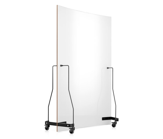 Neuland Werkwand | Curved Version Chalk Board/Whiteboard by Neuland | Space dividing systems