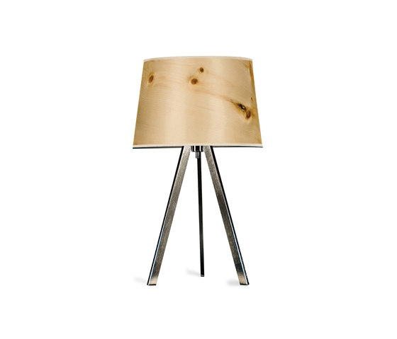 Attica | Cembra pine by LeuchtNatur | Table lights