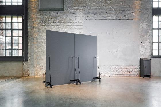 Neuland Werkwand | Straight Version Chalk Board/Chalk Board by Neuland | Space dividing systems