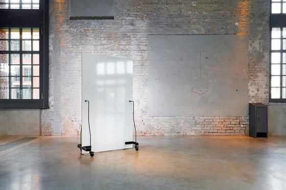 Neuland Werkwand | Straight Version Chalk Board/Whiteboard by Neuland | Space dividing systems