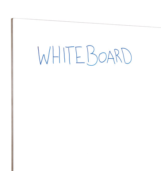 Neuland Werkwand | Straight Version Whiteboard/Whiteboard by Neuland | Space dividing systems