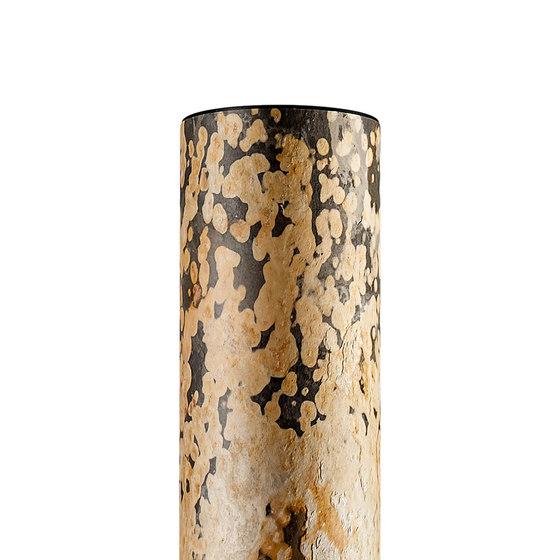 Columna   gold vein de LeuchtNatur   Lámparas de pie