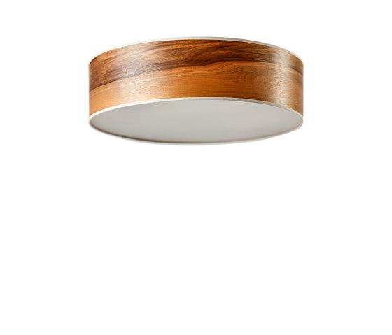 Disucs Ceiling | Europ. Walnut di LeuchtNatur | Lampade plafoniere