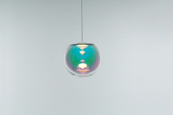 Iris - pink/green 35 by NEO/CRAFT | Suspended lights