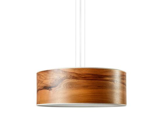 Discus Pendant | Europ. Walnut by LeuchtNatur | Suspended lights