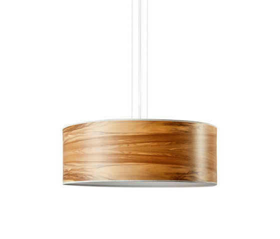 Discus Pendant | Satin walnut by LeuchtNatur | Suspended lights