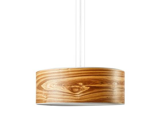 Discus Pendant | Oliveash burl di LeuchtNatur | Lampade sospensione