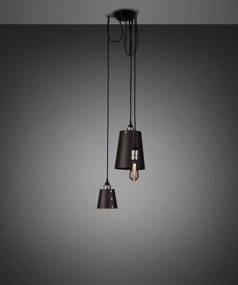Hooked 3.0 Mix   Graphite   Steel by Buster + Punch   Suspended lights
