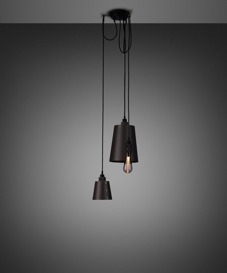 Hooked 3.0 Mix | Graphite | Smoked Bronze by Buster + Punch | Suspended lights