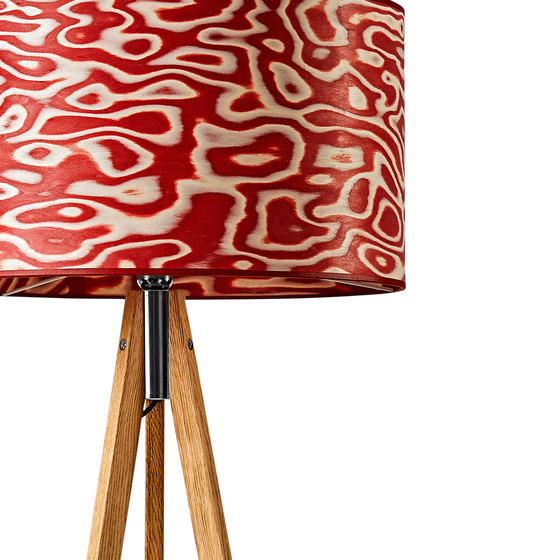 Ligno | Rosso by LeuchtNatur | Free-standing lights