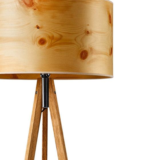 Ligno | Cembra pine de LeuchtNatur | Luminaires sur pied