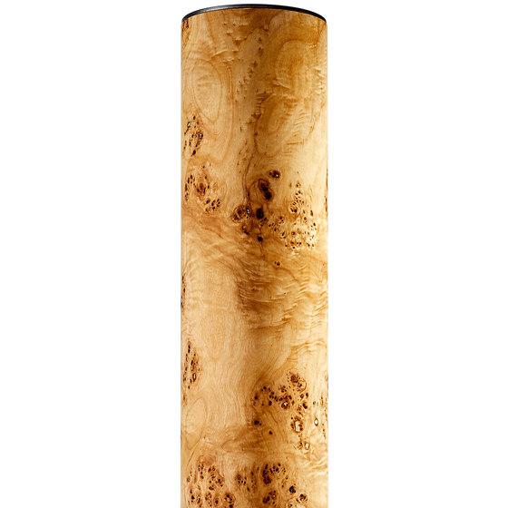 Lucerna | Poplar burl by LeuchtNatur | Free-standing lights