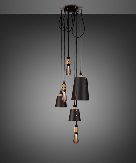 Hooked 6.0 Mix Graphite | Brass by Buster + Punch | Suspended lights