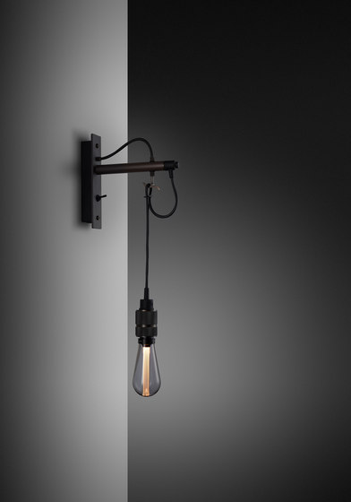 Hooked wall | nude | Graphite | Smoked Bronze by Buster + Punch | Wall lights