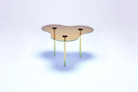 Camo A - Glass - Gold/Indigo de NEO/CRAFT | Mesas de centro