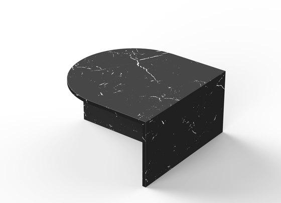 Fifty Oval - marble - Nero Marquina de NEO/CRAFT | Mesas de centro