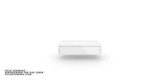 CABINET I-I édition spéciale - Piano laqué blanc de Rechteck   Buffets / Commodes