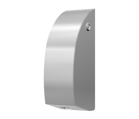 SteelTec soap dispenser, with IR sensor, stainless steel, DESIGN by CONTI+   Soap dispensers