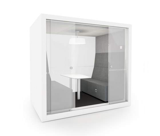 POD ROLL SMALL SLIDE by INTO the Nordic Silence | Office Pods