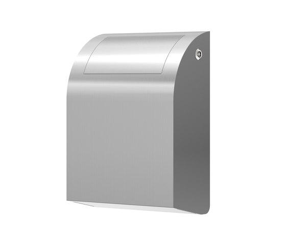 SteelTec waste bin swing lock DESIGN by CONTI+ | Bath waste bins