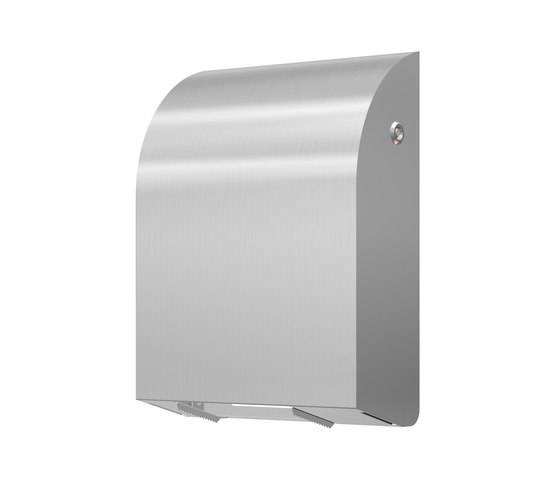 SteelTec Toilet paper holder, 4 Standard paper roll, DESIGN by CONTI+   Paper roll holders