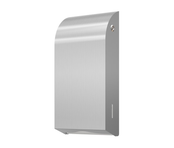 SteelTec paper towel dispenser DESIGN de CONTI+ | Dispensadores de papel