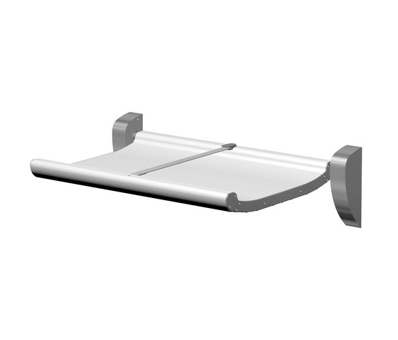 SteelTec security changing table with belt by CONTI+ | Baby changing tables