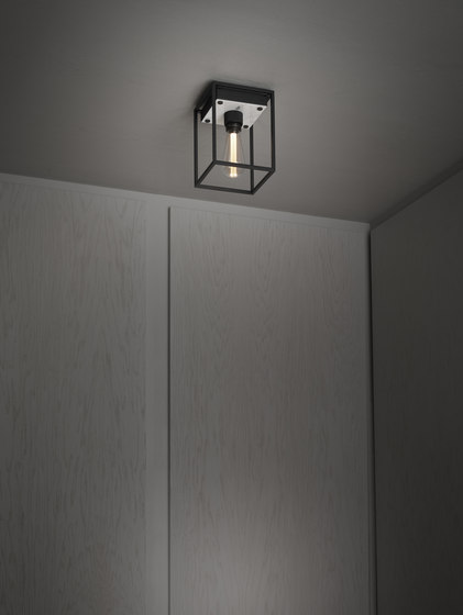 Caged Ceiling 1.0 Medium | Polished White Marble di Buster + Punch | Lampade plafoniere