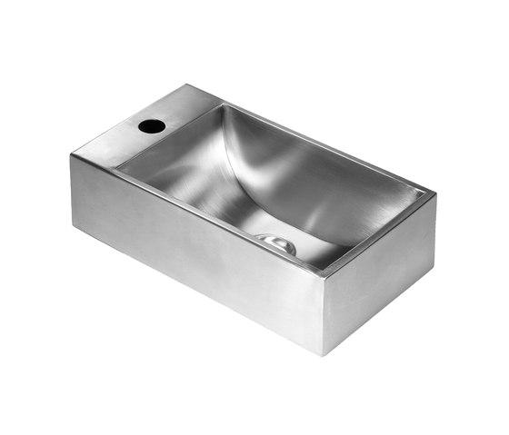 SteelTec washbasin Fjell 230 by CONTI+ | Wash basins