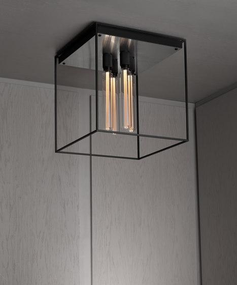 Caged Ceiling 4.0 | Brushed Steel | Buster Bulb Tube von Buster + Punch | Deckenleuchten